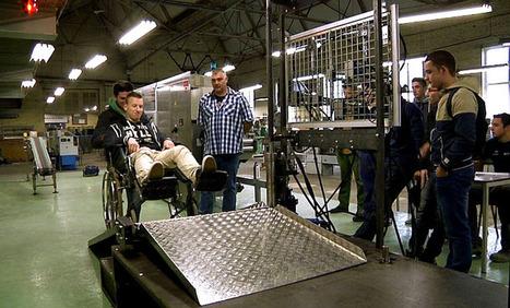 Projet ITN-SNCB (3) : la passerelle fonctionne en atelier - lavenir.net | News Accessibilité et Handicap | Scoop.it