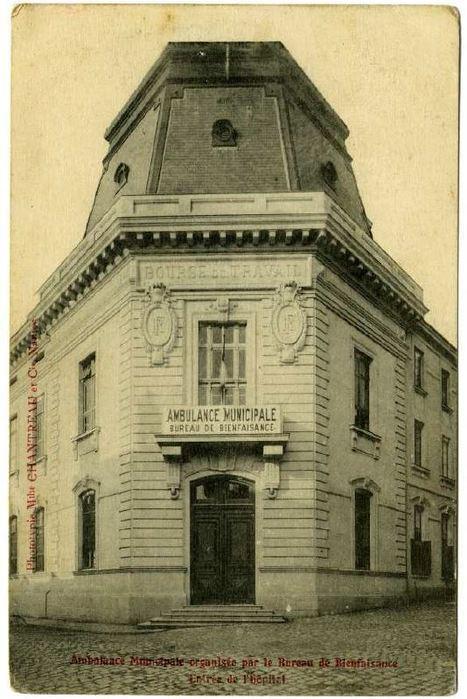 La Bourse du travail de Nantes transformée en hôpital militaire - [Centre d'histoire du travail, Nantes] | Histoire 2 guerres | Scoop.it