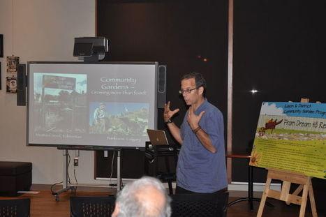 Community garden guru enlightens Edson - Edson Leader | Rails to Trails and Food Forests | Scoop.it