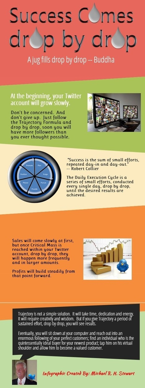 Success Comes Drop By Drop (Infographic) : Jericho Technology, Inc.   Social Media   Scoop.it
