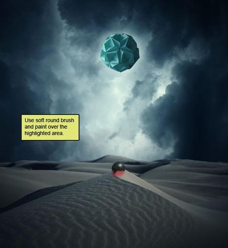Photo Manipulate a Surreal, Gravity-Defying Desert Scene | PSDFan | Photoshop Tutorials | Scoop.it