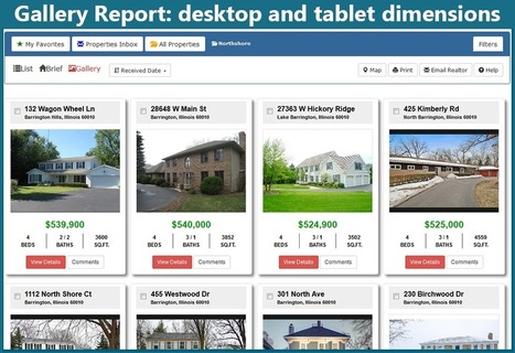 MRED spiffs up online consumer portals with responsive design | Real Estate Plus+ Daily News | Scoop.it