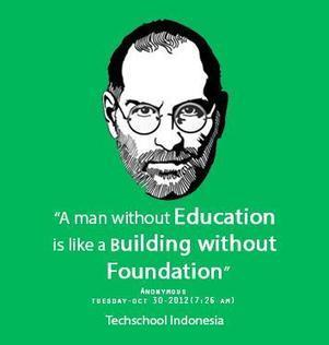 A man without Education is like a Build | Teacher resources | Scoop.it