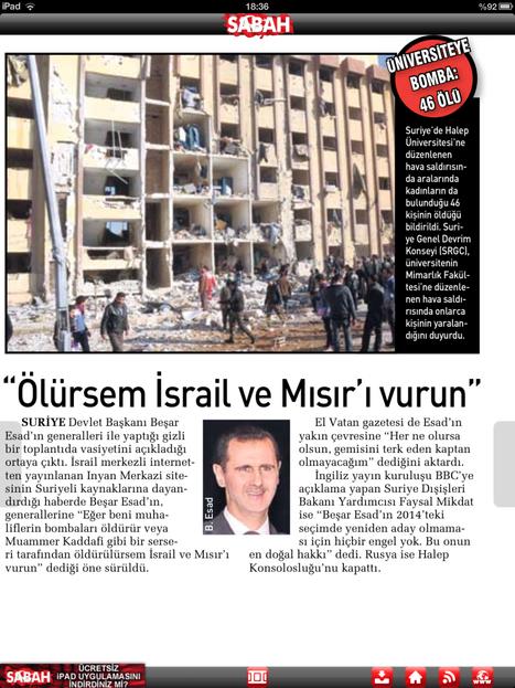 Eğer ben ölürsem Mısır'ı ve İsrail'i vurun | haber toplantısı | Scoop.it