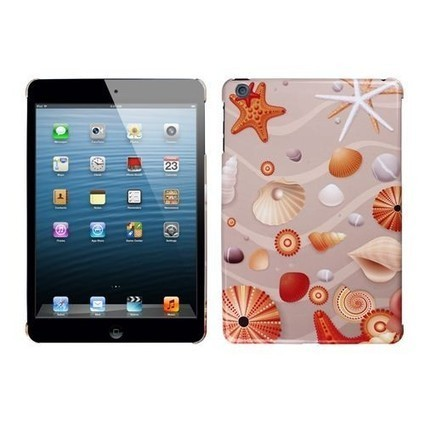 Shop a Apple iPad mini Back Cover Case - Beach Sand Seashells Shipped Free || Acetag.com - Free Shipping in The U.S.A | What is the best Accessories for Cell Phone, tablet and MP3 | Scoop.it