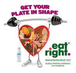 National Nutrition Month - 2012 - Get Your Plate in Shape | Superfoods | Scoop.it