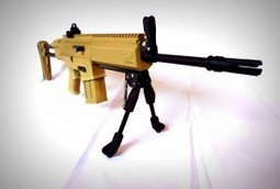 3D Printed Airsoft Gun Created By Engineer | Technology and Consumer | Scoop.it
