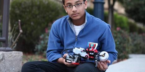 Avec ses Lego, ce garçon de 12 ans a créé une imprimante braille | Fab Lab à l'université | Scoop.it