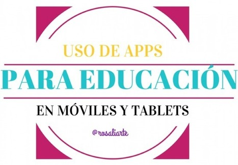 Rosa Liarte – Apps para Educación Permanente y Educación Especial | Aprendiendo a Distancia | Scoop.it