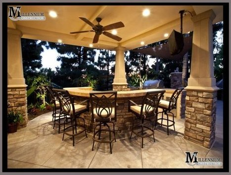 Outdoor Kitchens & BBQ's By Millennium Construction | Bussiness | Scoop.it