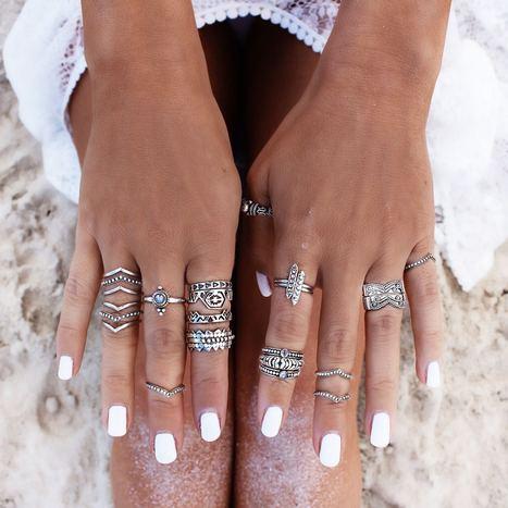 {Nail art} Des ongles Funky pour ton mariage | Funky wedding | Cadeaux de mariage et voyage de noce | Scoop.it