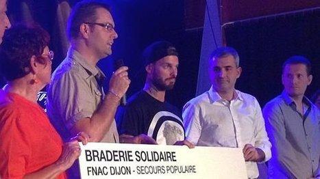 Côte-d'Or : M'Pokora remet un chèque de 126 000 euros au Secours Populaire au nom de la Fnac - France 3 Bourgogne | mécénat & levée de fonds | Scoop.it