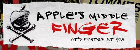 Por qué dejé de de usar los productos de la manzanita: la actitud de Apple, sus abusos y maneras (su política industrial o laboral, por ejemplo) | Maestr@s y redes de aprendizajes | Scoop.it