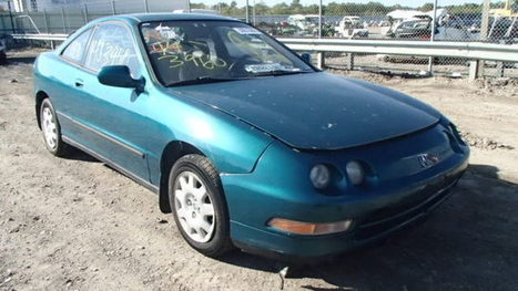 Salvage 1995 green Acura Integra Ls with VIN JH4DC4450SS005257 on auction   cars   Scoop.it