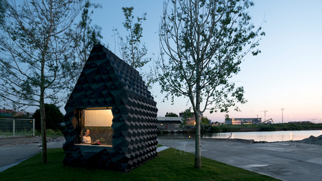 DUS Architects builds 3D-printed micro home in Amsterdam | retail and design | Scoop.it
