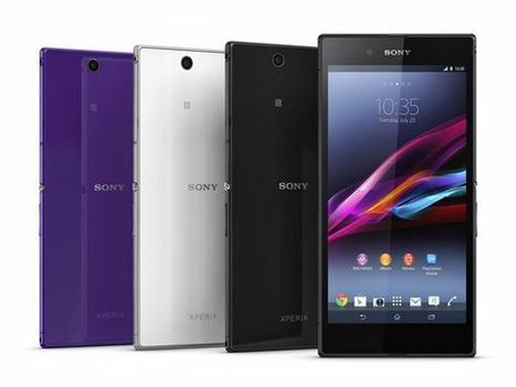 Sony Xperia Z Ultra Test [Video] | Mobile Technology | Scoop.it