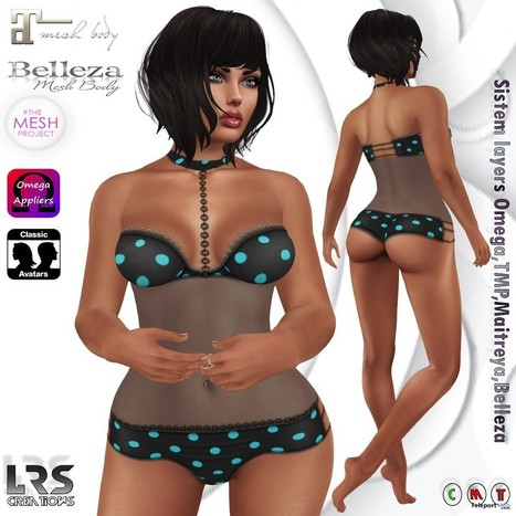 Alma Short Outfit Teleport Hub Group Gift by LRS Creations | Teleport Hub - Second Life Freebies | Second Life Freebies | Scoop.it