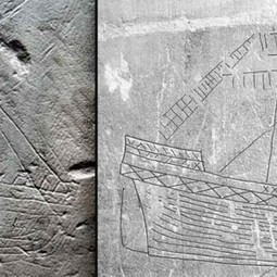 Signs of sailors: Ship graffiti in medieval churches | Archaeology News | Scoop.it