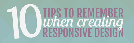 10 Tips to Create Effective Responsive Web Design | Companies Web Design | Scoop.it