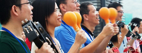 6 Team Building Activities designed to promote company values | Team Building Asia – Hong Kong, Singapore, Macau and Shanghai, China | Serious Play | Scoop.it