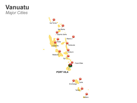 Vanuatu PowerPoint Map | PowerPoint Presentation Tools and Resources | Scoop.it