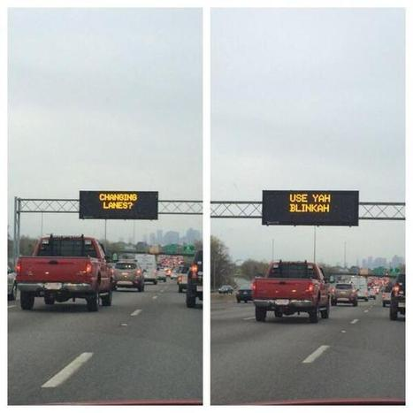 Tweet from @Porkerlyness | Transport Signage | Scoop.it