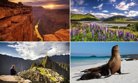 The bucket list destinations for Britons are the Grand Canyon and Machu Picchu - Daily Mail | Best tourist attractions | Scoop.it