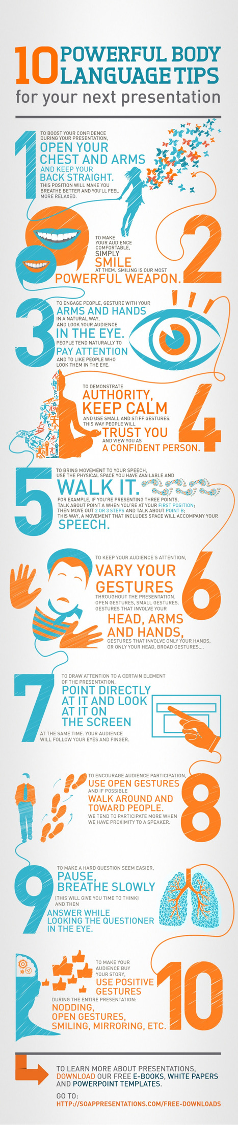 Presenters: Beware of Your Body Language  [infographic] | digital marketing strategy | Scoop.it