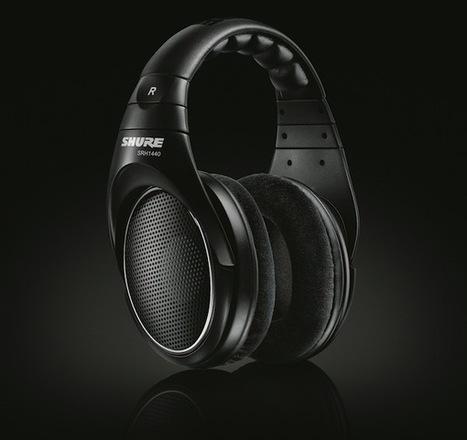 [Test] Shure SRH1440 : casque Hi-Fi semi-pro de haute précision | ON-TopAudio | Scoop.it