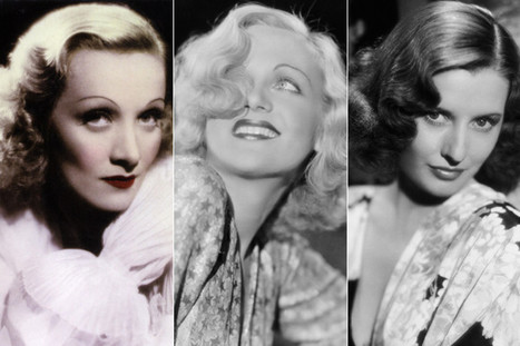 10 Screen Sirens Whose 1930s Hairstyles Took Our Breath Away - Huffington Post   hairstyles   Scoop.it