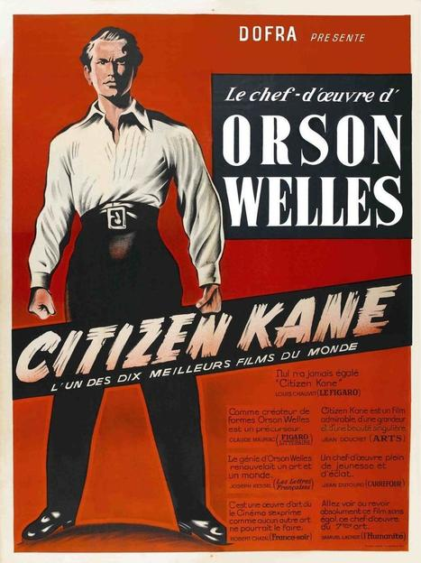 """Citizen Kane Is Not Cinema"": Jean-Paul Sartre Reviews Orson Welles' Masterwork (1945) 