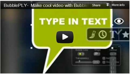 BubblePLY - personalize your videos | 7thGradeTeacher | Scoop.it