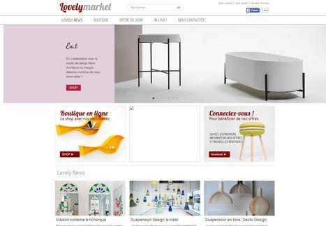 [Stratégie] Lovely Market joue la carte de la déco inspirante | e-commerce  - vers le shopping web 3.0 | Scoop.it
