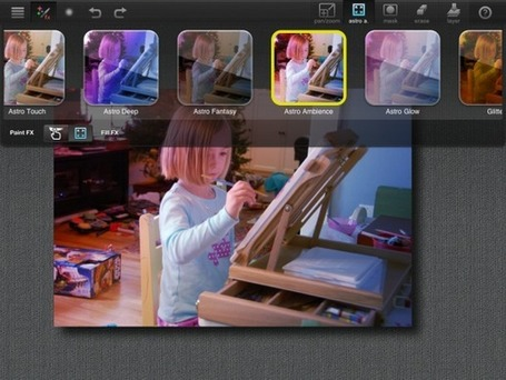 How to get started with Paint FX | iPad for Teachers | Scoop.it