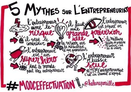 5 mythes de l'entrepreneuriat - #MOOCeffectuation | Pédagogies et Formation continue | Scoop.it