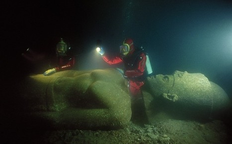 An Ancient City Is Discovered Underwater. What They Found Will Change History Forever | History | Scoop.it