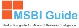 Msbi Guide | MSBI | Scoop.it