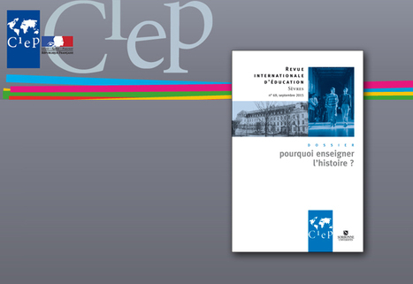 Jean-Clément Martin : «Pourquoi enseigner l'histoire?» - Lectures | EDUCACIÓN Y PEDAGOGÍA | Scoop.it