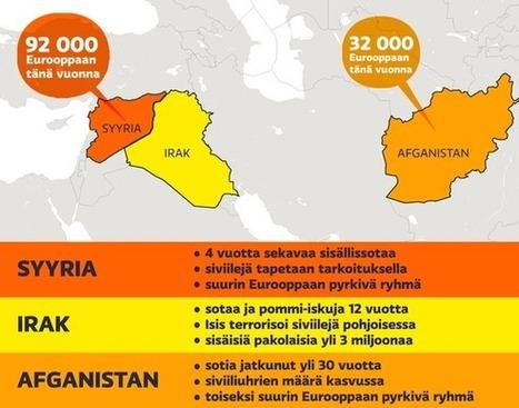 Euroopan ennätysmäisen siirtolaistulvan syyt: sota, vaino ja köyhyys   Historia   Scoop.it