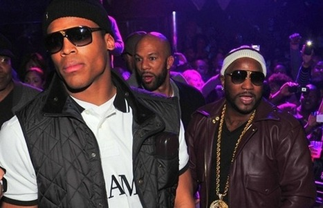 Listen To Cam Newton Freestyle On Sway In The Morning - XXL | GetAtMe | Scoop.it