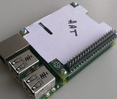 Raspberry Pi HAT Specification Released | Arduino, Netduino, Rasperry Pi! | Scoop.it