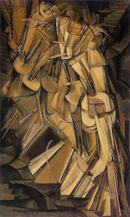 loverofbeauty: Marcel Duchamp: Nude descending a... | CyberDada | Scoop.it