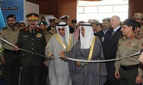 Defense Minister Sheikh Khaled sponsors Gulf Defense Exhibit - Kuwait News Agency   Aerospace events   Scoop.it