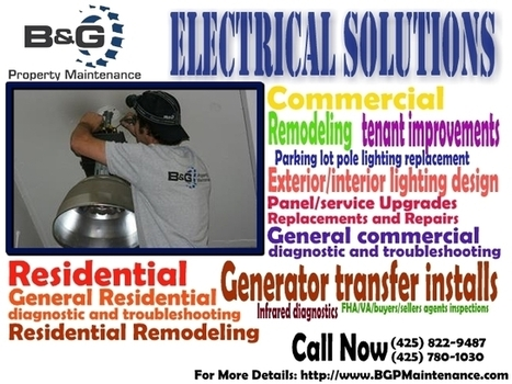 Your Electrical Contractors - Kirkland and Seattle WA | Electrical and Maintenance Solution | Scoop.it