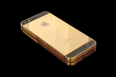 Apple Solid Gold iPhone 5S - Grease n Gasoline | iphone | Scoop.it