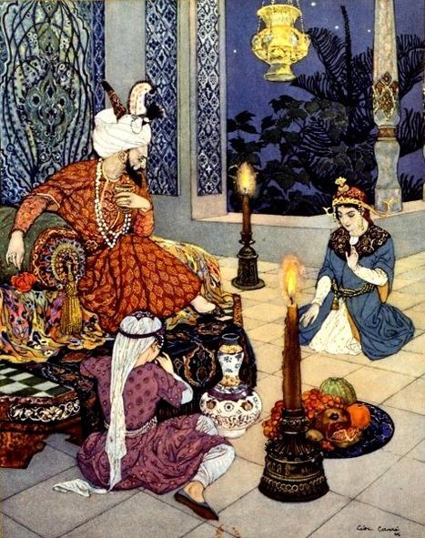 Raconte-nous une histoire, Shéhérazade ! - Les « Mille et une nuits » nourries par la Grèce, l'Inde, la Perse, le monde arabe | Merveilles - Marvels | Scoop.it