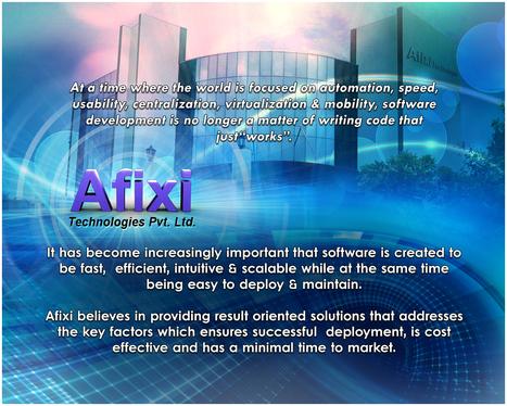 Website Designing, Development And Promotion @ Afixi Technologies | Web Development | Scoop.it