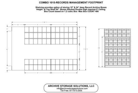 Shelving Footprints | Storage Solutions | Scoop.it