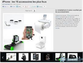 Le site du jour : les accessoires les plus fous pour iPhone | mlearn | Scoop.it