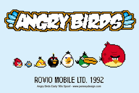 angry birds go retro | All Geeks | Scoop.it
